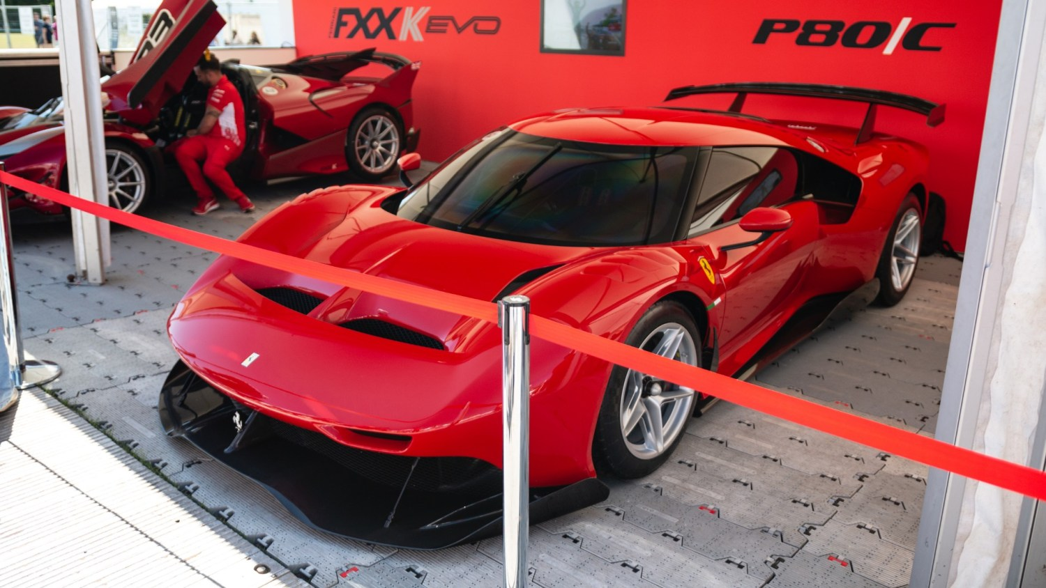 The new cars at Goodwood