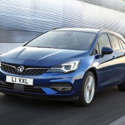 Facelifted Vauxhall Astra with new engines