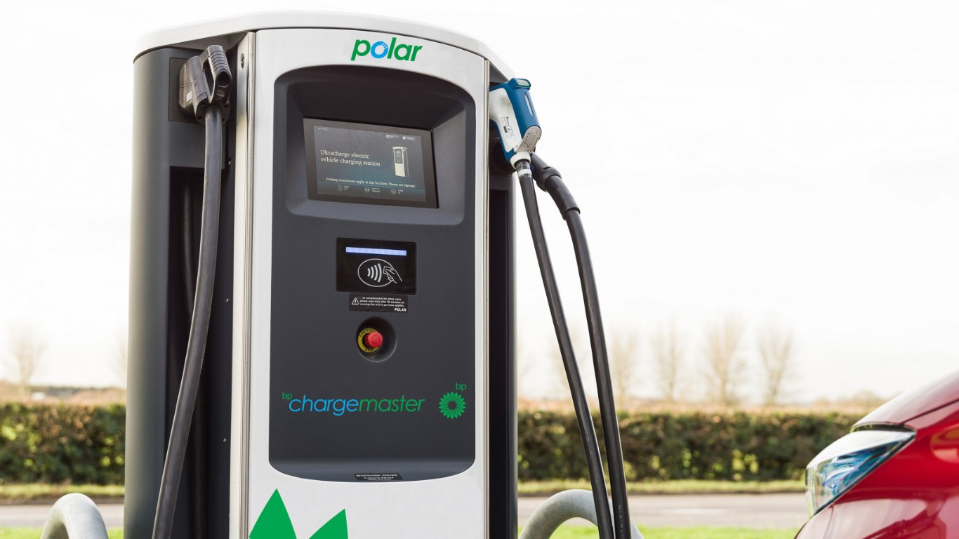 200 new BP Chargemaster rapid chargers