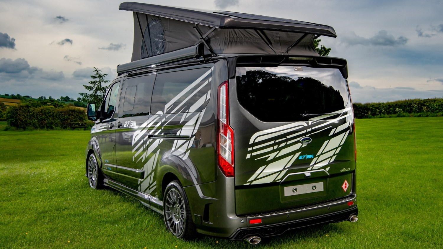 Ford fan spends £77,000 on his dream Transit