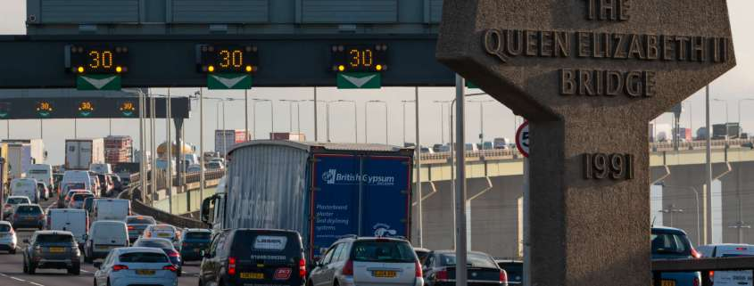 How to use the Dartford Crossing on a bicycle