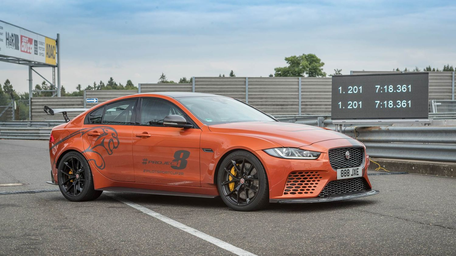 Jaguar sets another new Nurburgring record