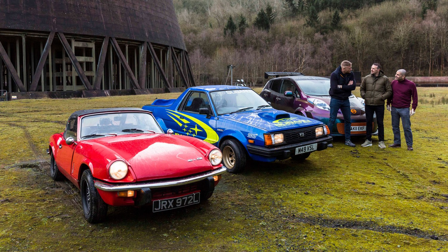 New cars for World of Top Gear display