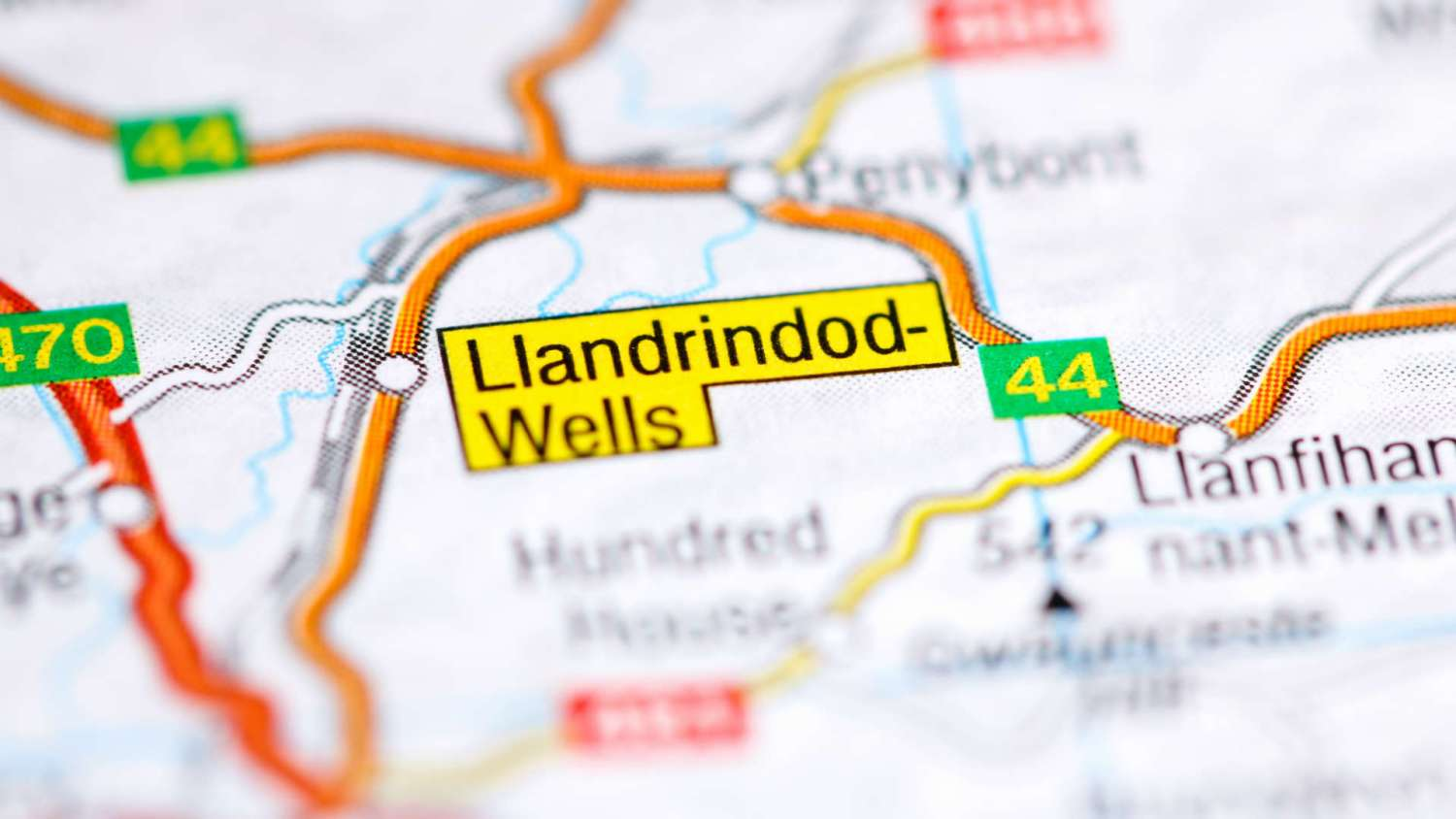Older drivers in Llandrindod Wells