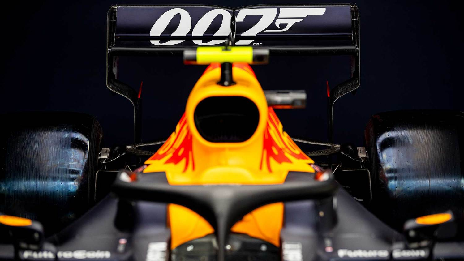 James Bond-themed Red Bull F1 cars for Silverstone