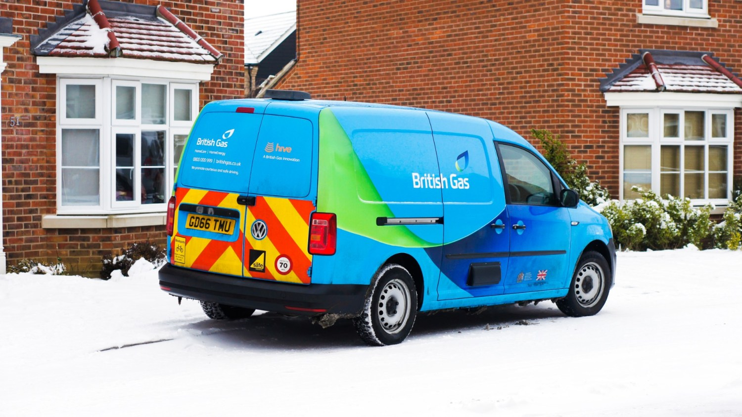 British Gas to cycle its van fleet to electric power