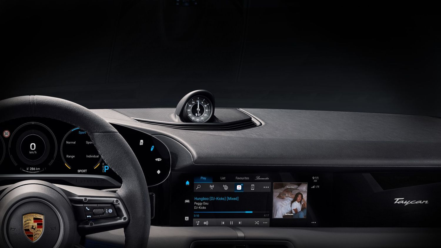 Porsche Taycan gets build-in Apple Music