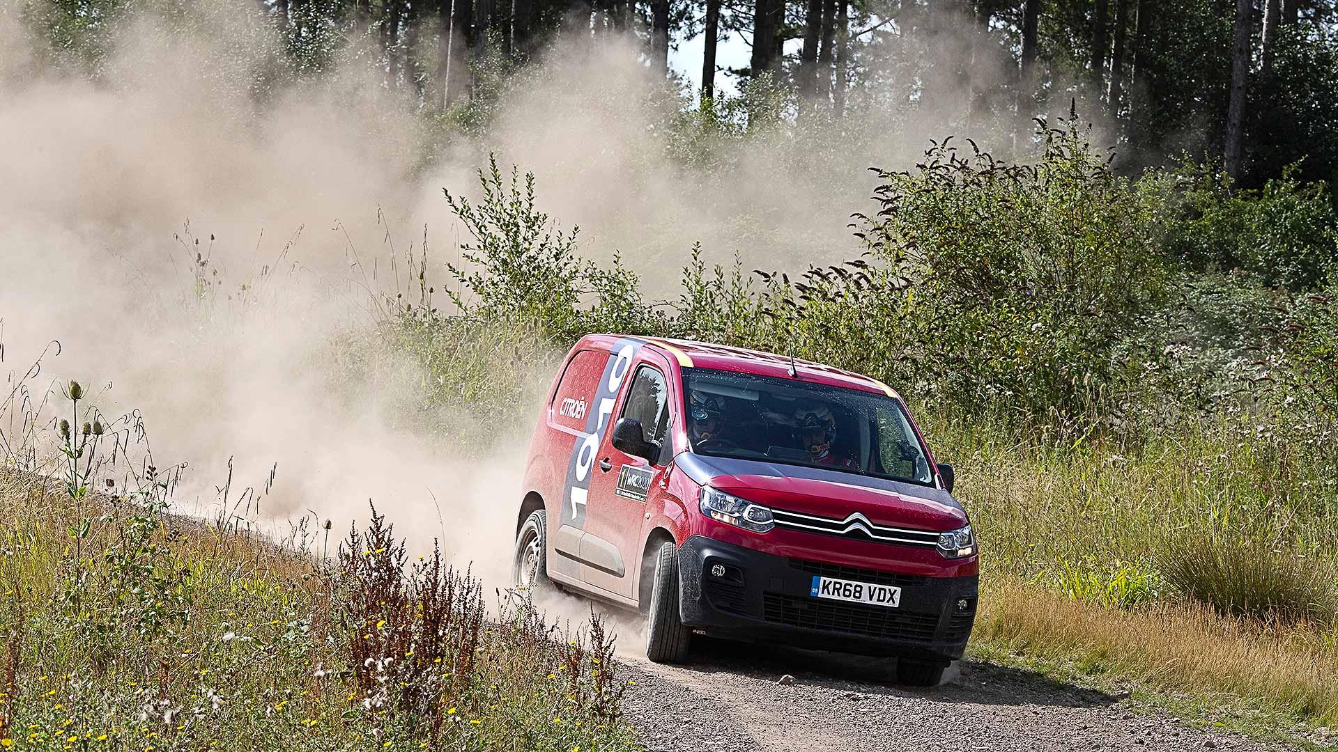 Citroen Berlingo van WRC special