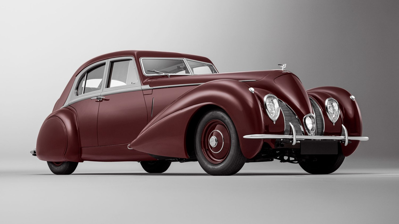 Bentley Corniche re-creation