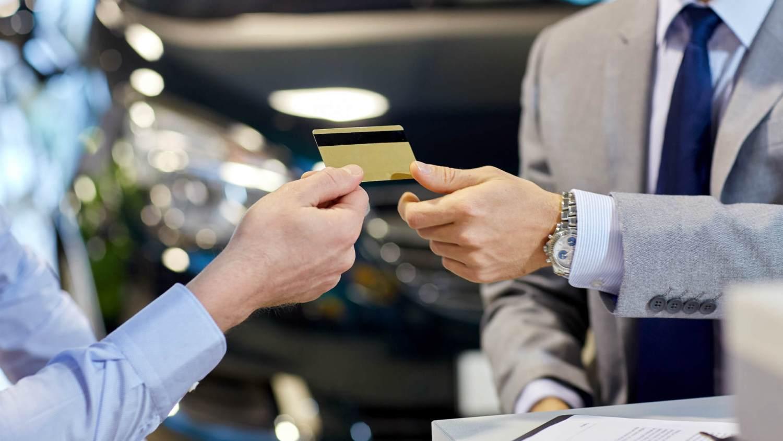 Car finance credit card