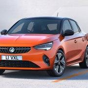 Electric Vauxhall Corsa-e