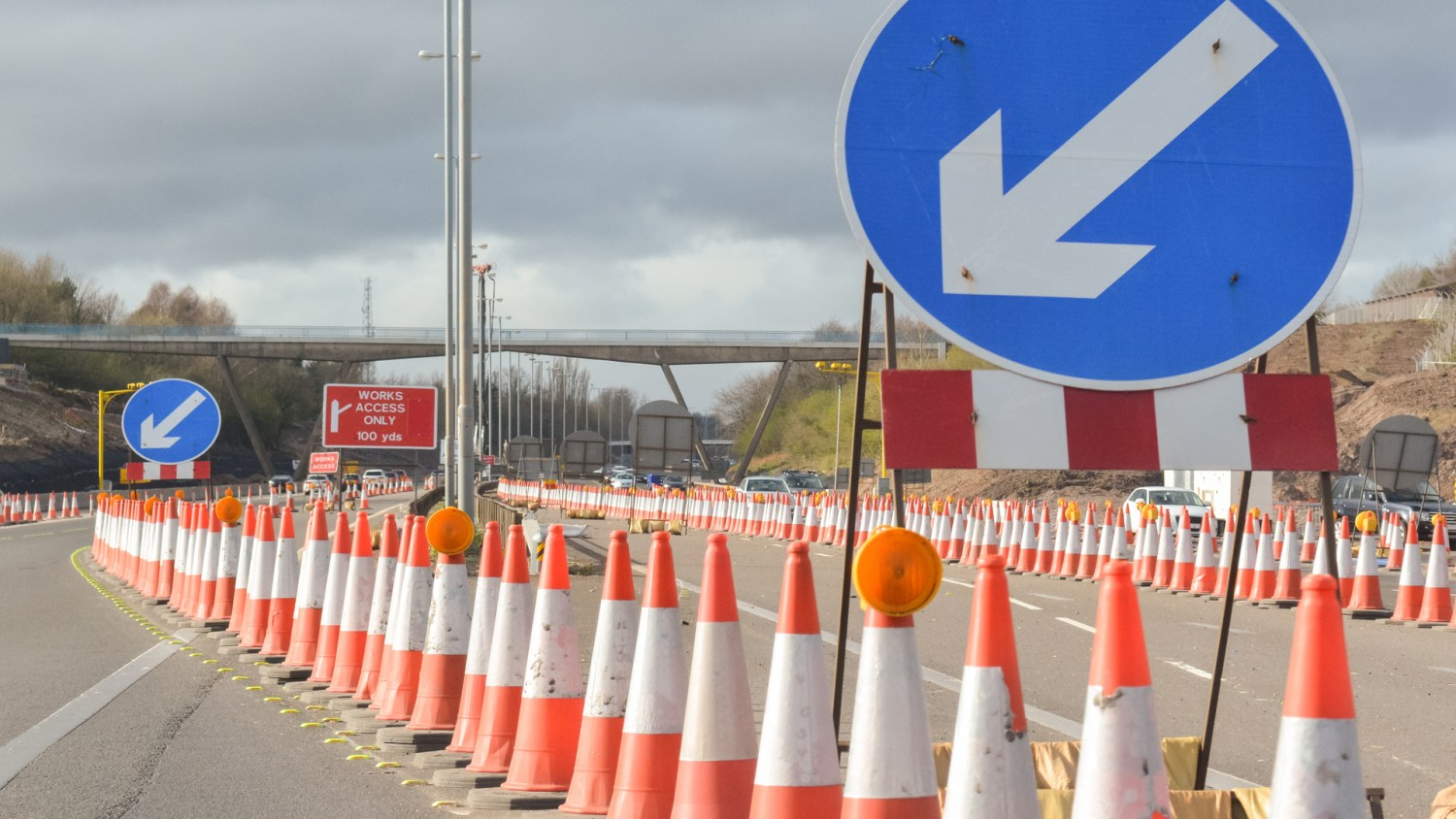 Highways England to remove 480 miles of roadworks