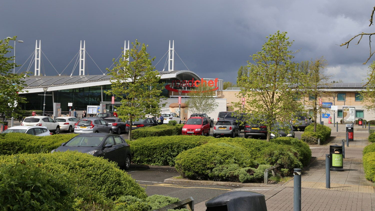 Norton Canes is the best motorway services