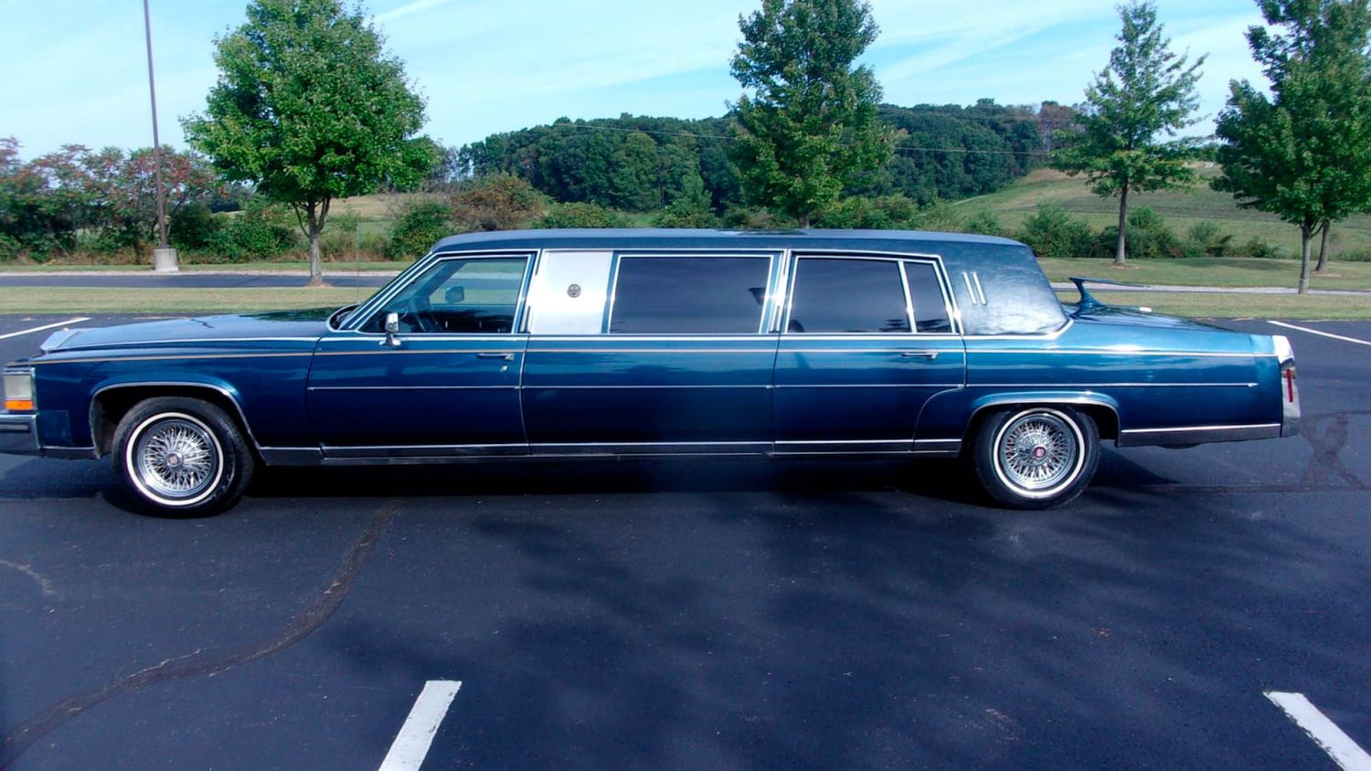 You Could Come Up Golden With This Rare 1989 Trump Cadillac
