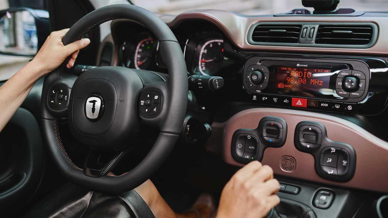 Fiat Panda Trussardi interior