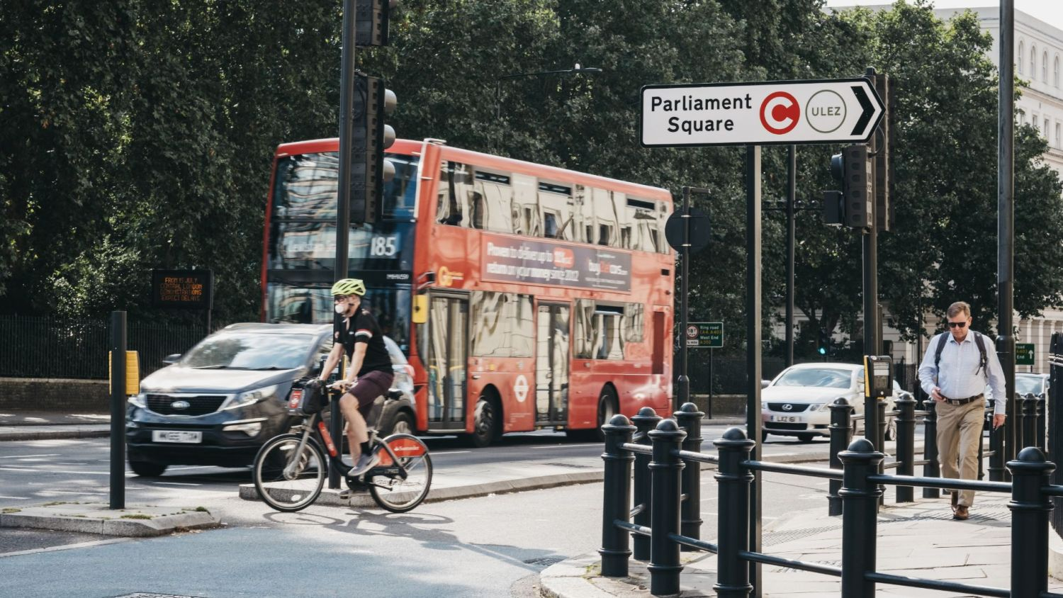 Central London 20mph speed limit