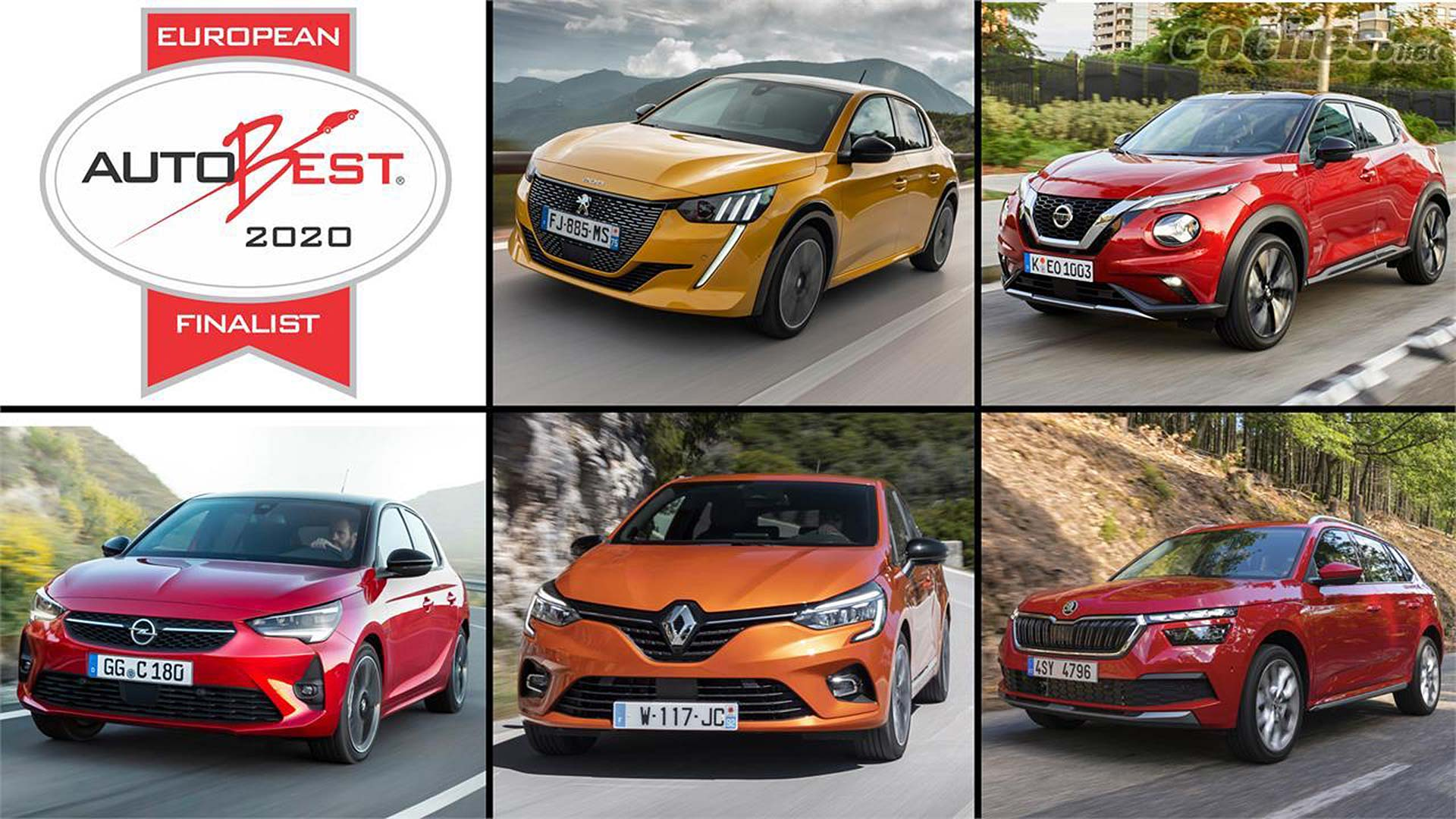 Finalists revealed for Best Buy Car of Europe 2020