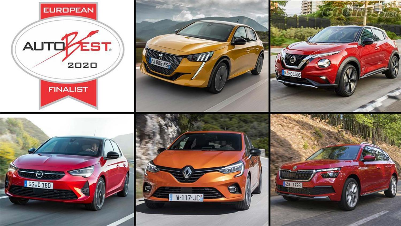 AUTOBEST 2020 finalists - Nissan Juke, Peugeot 208, Renault Clio, Skoda Kamiq, Vauxhall Corsa