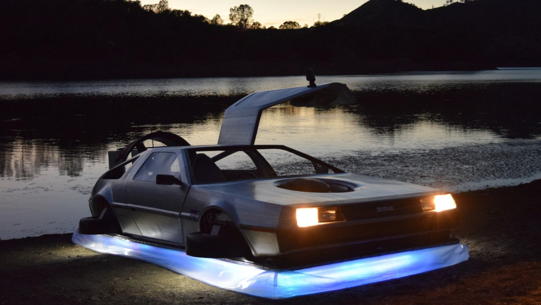 BaT DeLorean DMC 12 Hovercraft