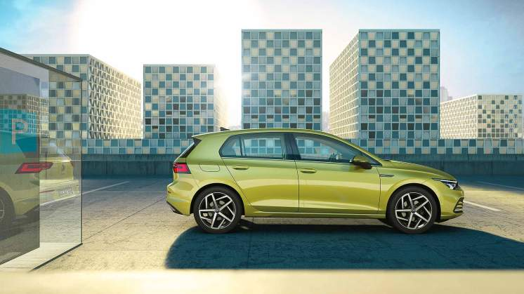The new Golf for 2020