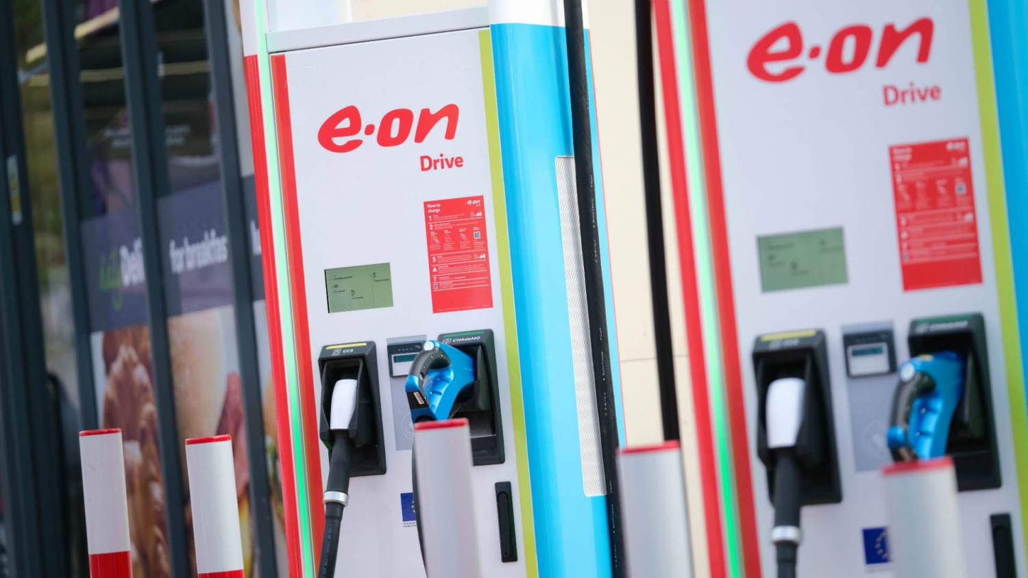 EON Ultra-fast chargers in Birmingham