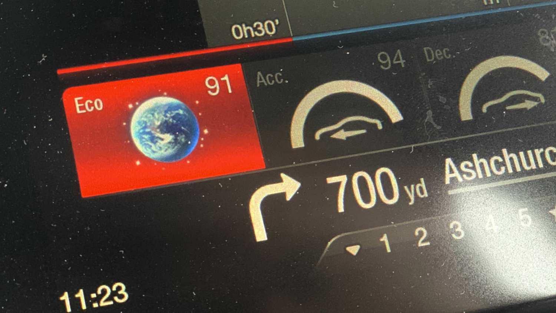 Eco rating in the Alfa Romeo Giulia Quadrifoglio