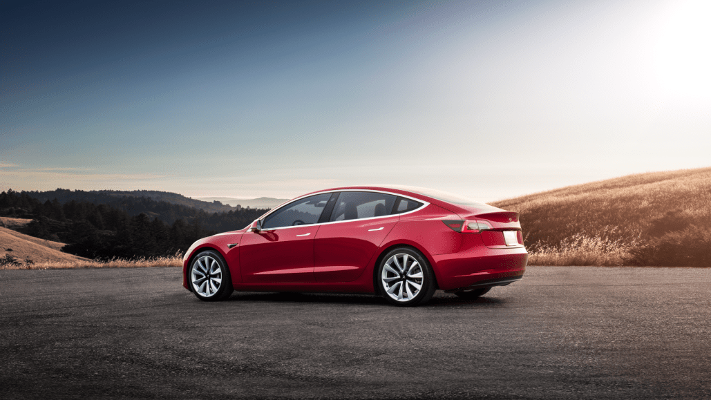 How much does it cost to charge a Tesla Model 3?