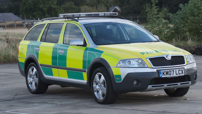 Skoda Octavia paramedic