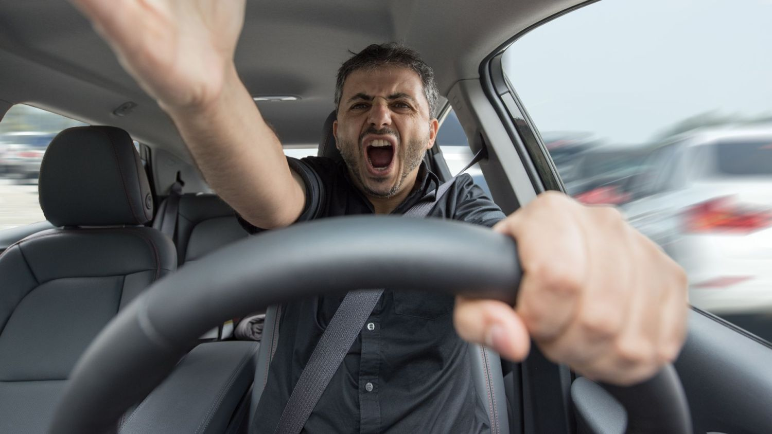 Road rage increasing in the UK