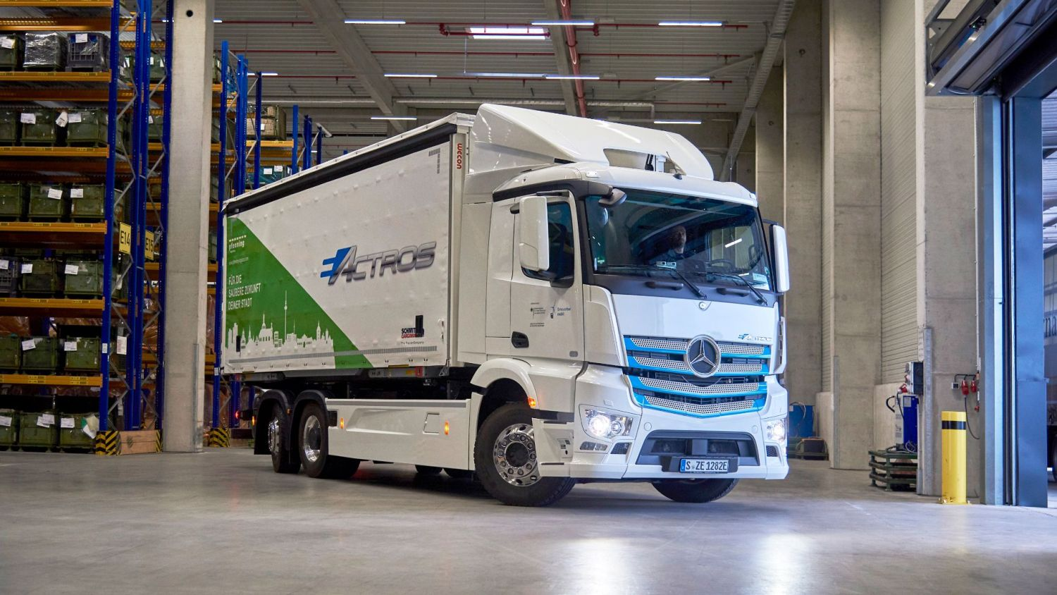Mercedes electric truck