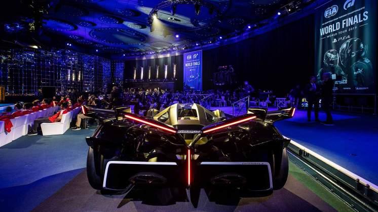 Lamborghini Lambo V12 Vision Gran Turismo launch