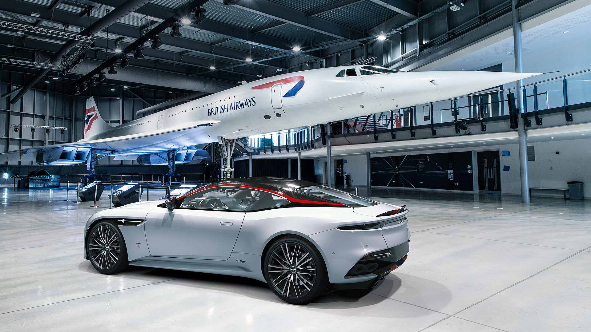 Aston DBS special marks 50 years of Concorde
