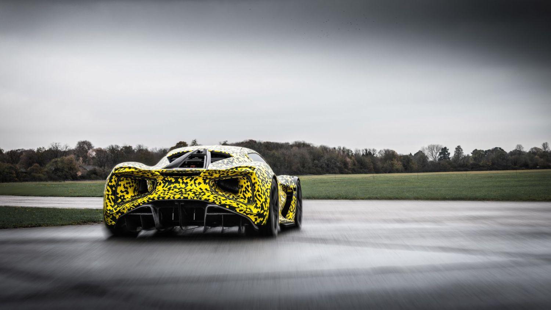 Lotus Evija dynamic debut