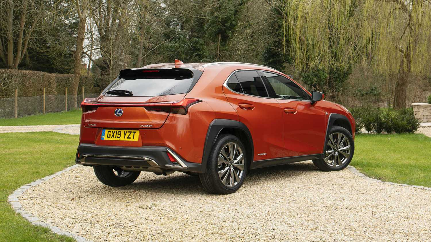 Lexus UX self-charging hybrid