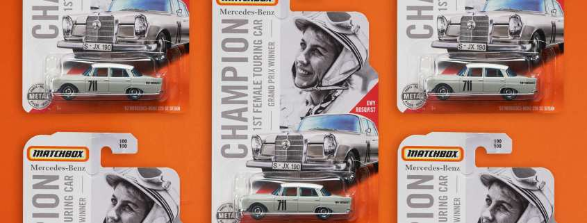 Matchbox Mercedes-Benz car