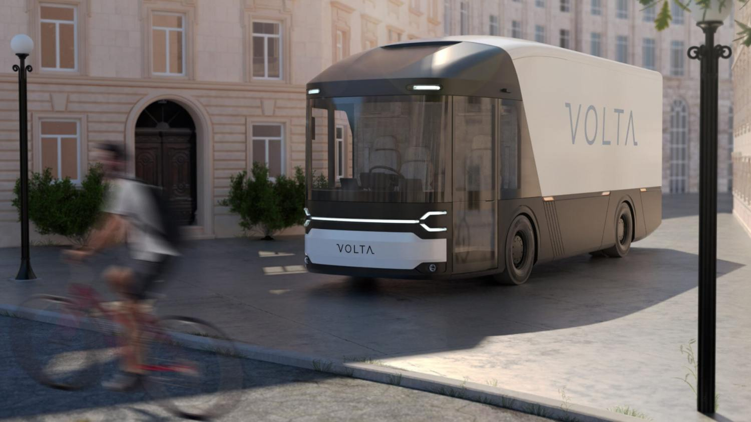Volta electric truck developed in the UK