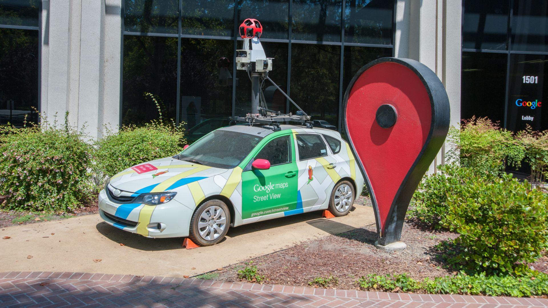 Google Street View cars clock up 10 million miles