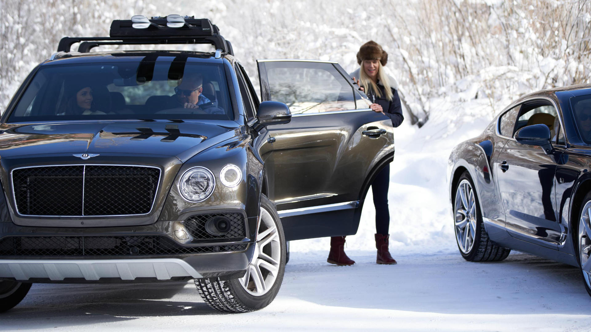 Bentley launches a ski-drive holiday – but it isn't cheap