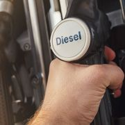 Diesel use down for the first time in a decade