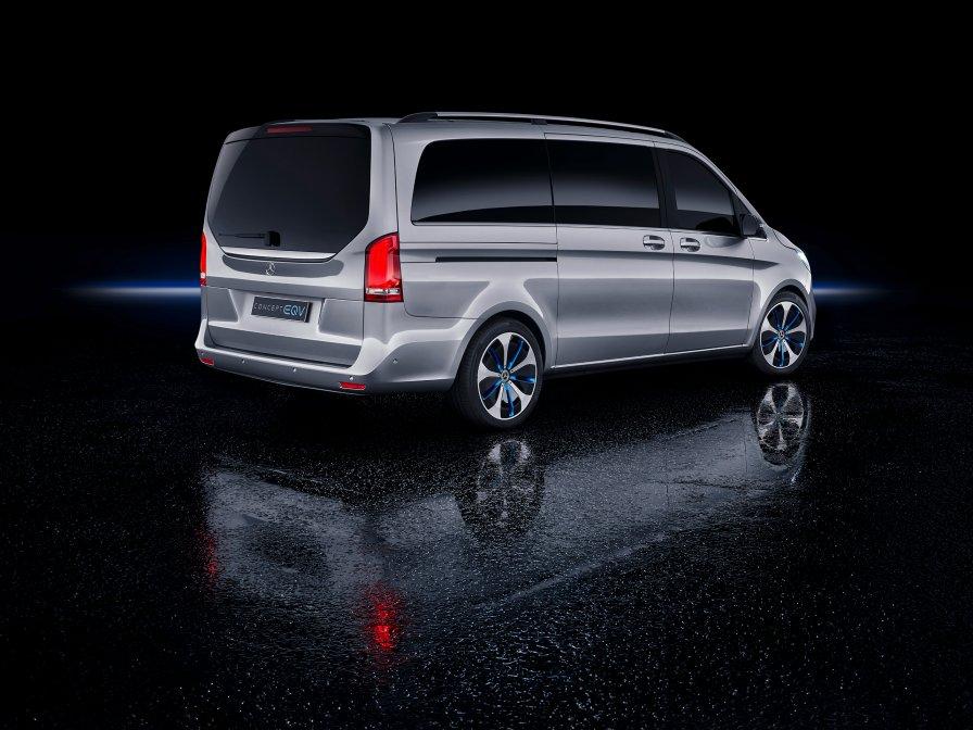 The Mercedes-Benz Concept EQV