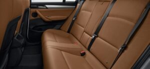 Extravagantly selected leather interior