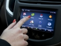 Chevrolet MyLink connected radio in the Trax
