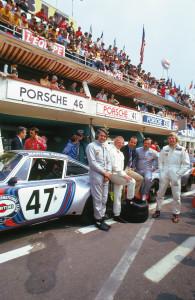Team Porsche 1974 le Mans