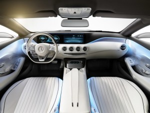 Concept S-Class Coupé; color: alubeam silver; interior: leather white; 2013