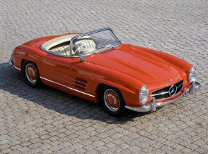 Mercedes-Benz Typ 300 SL Roadster (W 198 II, 1957 bis 1963).