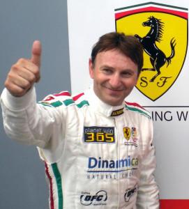 2013 GT Open champion Andrea Montermini