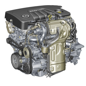1.6 CDTI ECOTEC - strong and efficient: 320 Nm of torque but onl