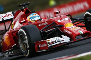 Fernando Alonso Ferrari F14T