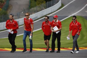 Motor Racing - Formula One World Championship - Belgian Grand Prix - Preparation Day - Spa Francorchamps, Belgium