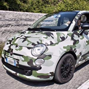 Nonsolomusica - Auto 500 Camouflage Forest